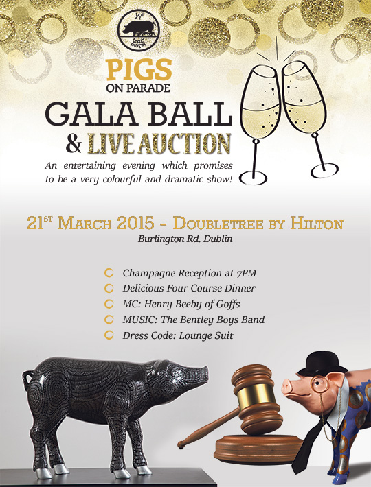 Pigs-on-Parade-live-auction